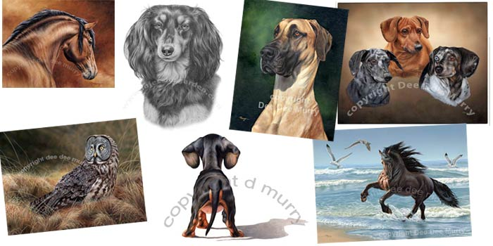 dee dee murry pet animal art